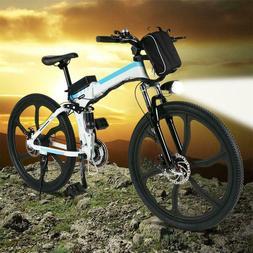 "24 km/h 26"" Electric Bicycle Mountain City Bike E-Bike 36V C"