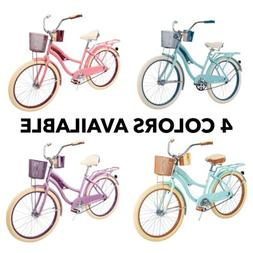 """Huffy 24"""" Nel Lusso Cruiser Bike - 🚨 4 Colors Available -"""