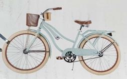 "Huffy 24"" Nel Lusso Women's Girl's Cruiser Bike With Per"