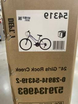 "Huffy 24"" Rock Creek Mountain Bike ""Purple"" Brand New In Box"