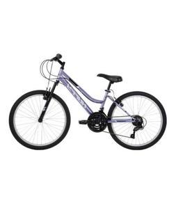 "Huffy 24"" Rock Creek Women's/Girl's Mountain Bike - Purple"