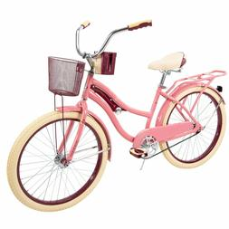 24in Bike For Girls Women 13 Year Old Cruiser Comfort Bicycl