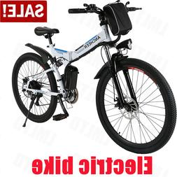 250W Power Electric Bike Lithium-Ion Battery 26/20inch Wheel