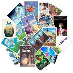 25pcs Miyazaki Hayao Anime <font><b>Stickers</b></font> My N