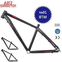 "26*16/17"" Aluminum Alloy XC Mountain Bike Frame BB68 Thread"