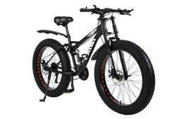 """26"""" 21 Speed 4.0 Fat Tire Bike Snow and Grass Sand Bike MTB"""