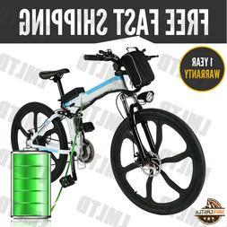"""26''/25"""" E-Bike 36V 250W Folding/Unfold Electric Mountain Bi"""