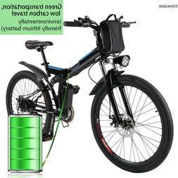 "26"" 250W Fat Tire Electric Bicycle Bike Ebike Mountain Beach"