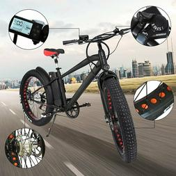 "ENPO 26"" 300W Electric Bicycle Fat Tire Mountain E-bike 36V1"