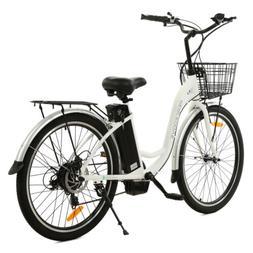 "26""36V10AH 350W Litium ION Electric Bicycle e-Bike LED 7 spe"