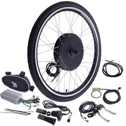 """26"""" 48V 1000W Ebike Front Wheel Electric Bicycle Motor Conve"""
