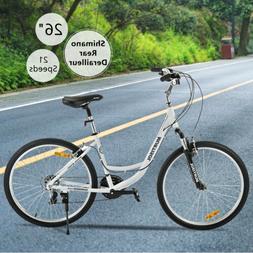26 aluminum women road bike 21 speeds