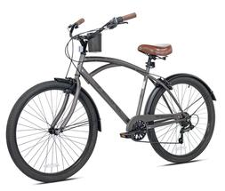 "🔥Kent 26"" Bayside Men's Cruiser Bike - Satin Cocoa🔥 BR"