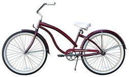 "26"" Beach Cruiser Bike Firmstrong Bella Fashionista LadyDa"