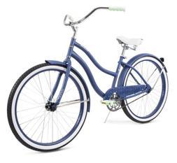 "Huffy 26"" Cranbrook Comfort Cruiser Bike Womens Stormy Blu"