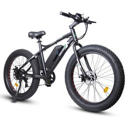 """ECOTRIC 26"""" Mountain Beach Electric Bicycle e-Bike Removable"""