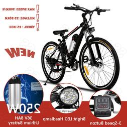 """ANCHEER 26"""" Foldable Electric Mountain Bicycles w/ 36V Lithi"""