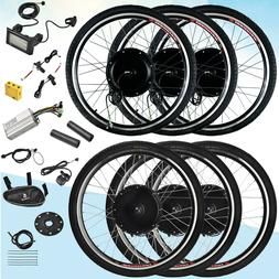 "26"" Front/Rear Wheel 36/48V Electric Bicycle E-bike Conversi"