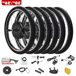 """20""""/26"""" E-bike Front Rear Wheel Motor Electric Bicycle Conve"""
