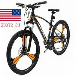 "26""Full Wheel Mountain Bike Bicycle Shimano 21Speeds Front S"