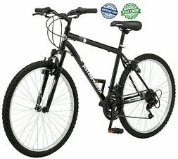 "26"" Roadmaster Granite Peak Mens Steel Mountain Bike 18 Spee"