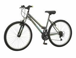 "Roadmaster 26"" Granite Peak Women's Mountain Bike, Grey- FAS"