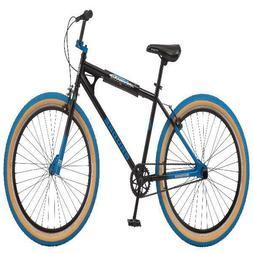 "Mongoose 26"" Grudge BMX Freestyle Men's Bike Single Speed Bl"