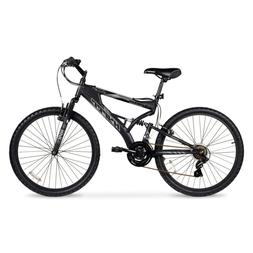 26 Inch Havoc Mens Mountain Bike Black Lightweight Aluminum