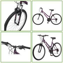 26 In Alloy Wheel Women Mountain Bike Steel Frame 18 Speed B