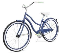 Huffy 26 Inch Cranbrook Cruiser Bike Blue/White New