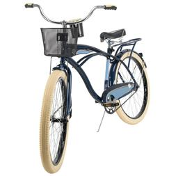 Huffy Cruiser Bike Men's 26 inch Single Speed Blue NEW
