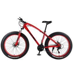 26 Inch iBiky 21Speed 4.0 Fat Tire Bike Snow Bicycle and Gra