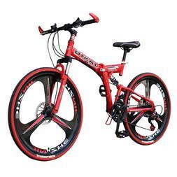 26 inch mountain bike 21 speed Folding mountain <font><b>bic