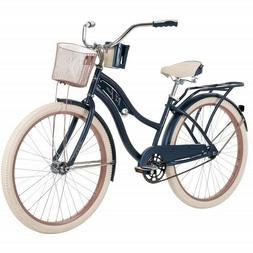 "Huffy 26"" Inch Women's Nel Lusso Beach Cruiser Bike with"
