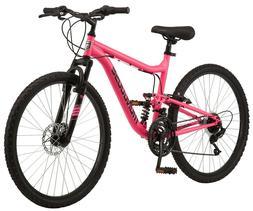 "Mongoose 26"" Major Mountain Bike Full Suspension NEW IN HAND"