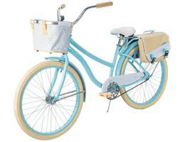 "Huffy Cruiser Bike 26"" Blue Women Comfort Commuter Bicycle"