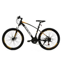 "26"" Mountain Bike Bicycle 21 Speed with Steel Frame Disc Bra"