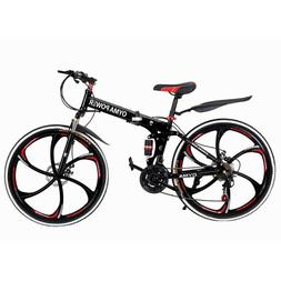26'' Mountain Bike Hybrid 21 Speeds Front Hard tail Suspensi