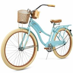 """Huffy 26"""" Nel Lusso Classic Cruiser Bike with Perfect Fit Fr"""