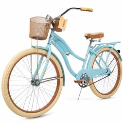 """Huffy 26"""" Nel Lusso Women's Cruiser Bike with Perfect Fit Fr"""