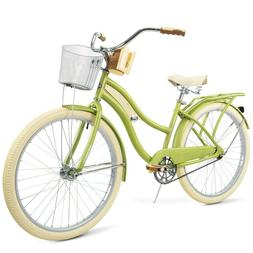 "Huffy 26"" Nel Lusso Womens Classic Cruiser Bike With Perfe"