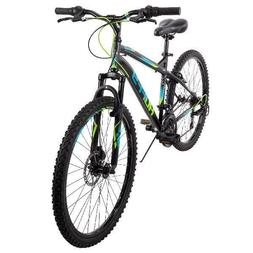 "Huffy 26"" Nighthawk Mens Hardtail Mountain Bike with 18 Spee"