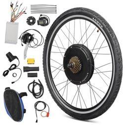 "26"" Rear Wheel 48V 1000W Electric Bicycle Motor LCD E-Bike H"
