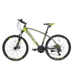 "26"" Suspension Mountain Bike Aluminum 24 Speed Mens Bikes Bi"