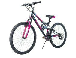 "26"" Huffy Trail Runner Womens / Girls Mountain Bike, Black P"