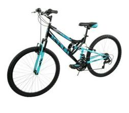 "Huffy 26"" Trail Runner Womens Mountain Bike, Metallic Pool B"