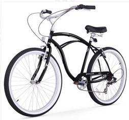 """Firmstrong 26"""" Urban Man 7 Speed - Men's Beach Cruiser Bike"""