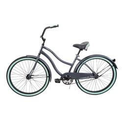 "HUFFY 26"" WOMEN'S CRANBROOK CRUISER BIKE GRAY NEW IN BOX"