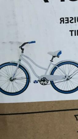 "HUFFY 26"" WOMEN'S CRANBROOK CRUISER BIKE WHITE NEW IN BOX"