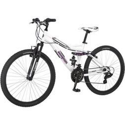 """26"""" Women's Mountain Bike 21 Speed Lightweight Suspension Fr"""